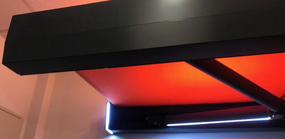 Markiza z oświetleniem LED